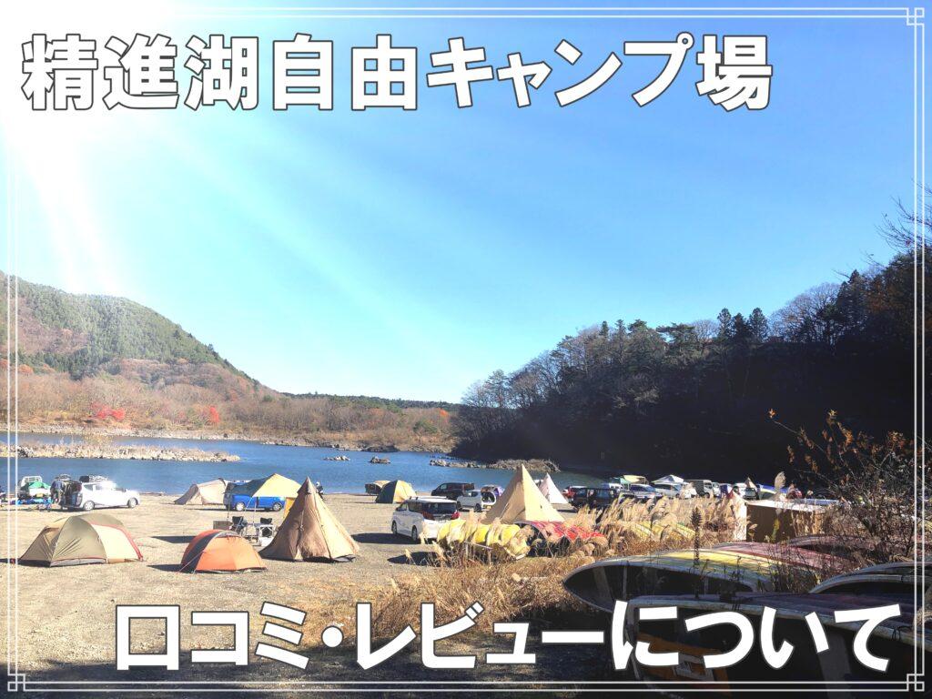 精進湖自由キャンプ場口コミ