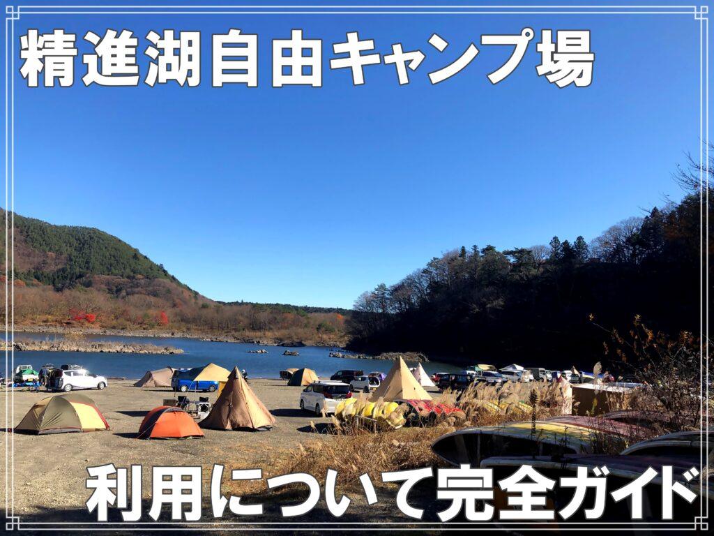 精進湖自由キャンプ場ガイド