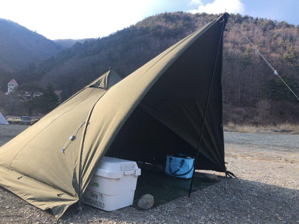 バンドック テント